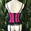 Thumbnail: Pink and blacker feather night bodice