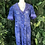 Thumbnail: Royal blue lace jacket dress