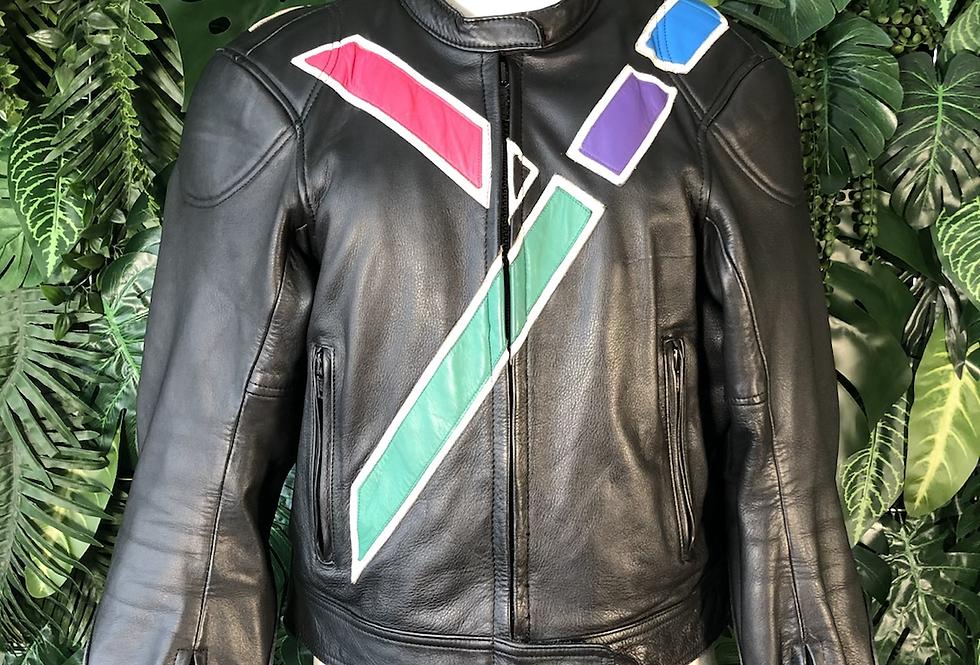 IXS leather motor cross jacket