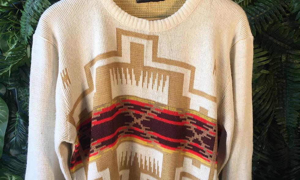 90s Aztec Knit