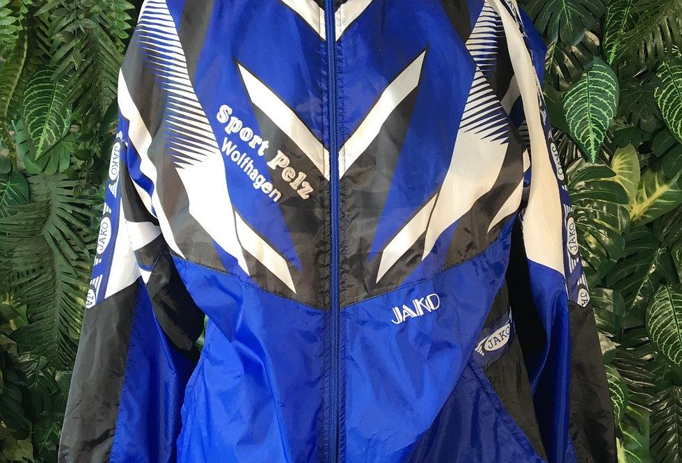Jako rain coat with zip away hood (L)