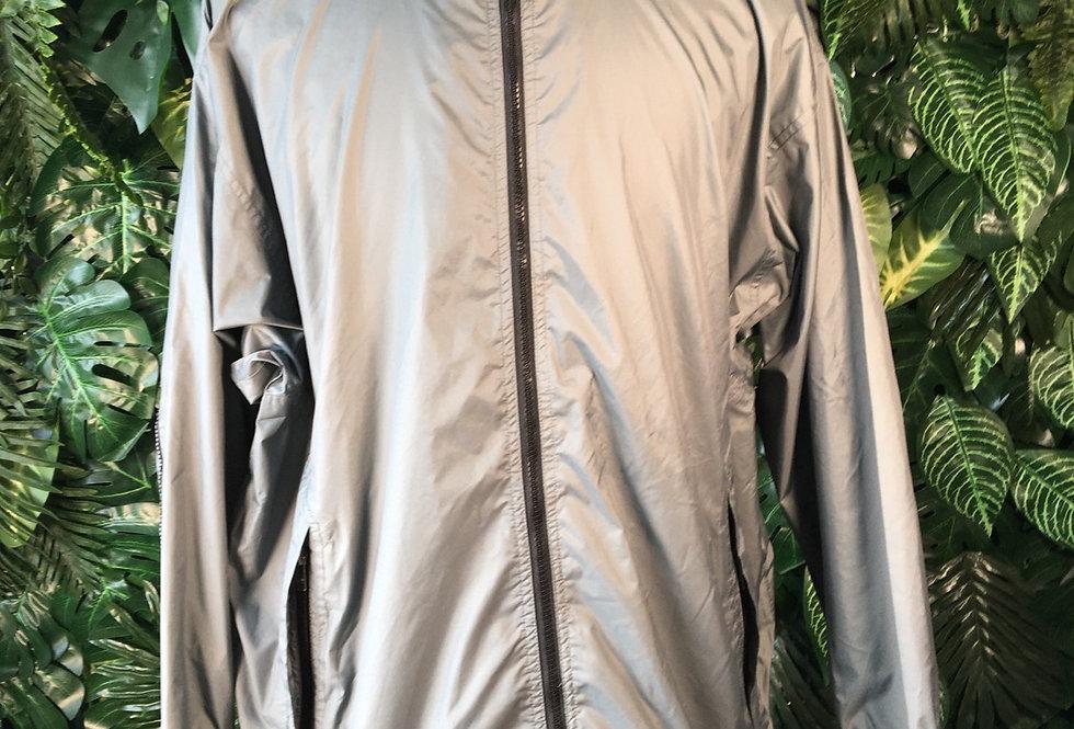 KWay rain mac with foldaway hood (M)