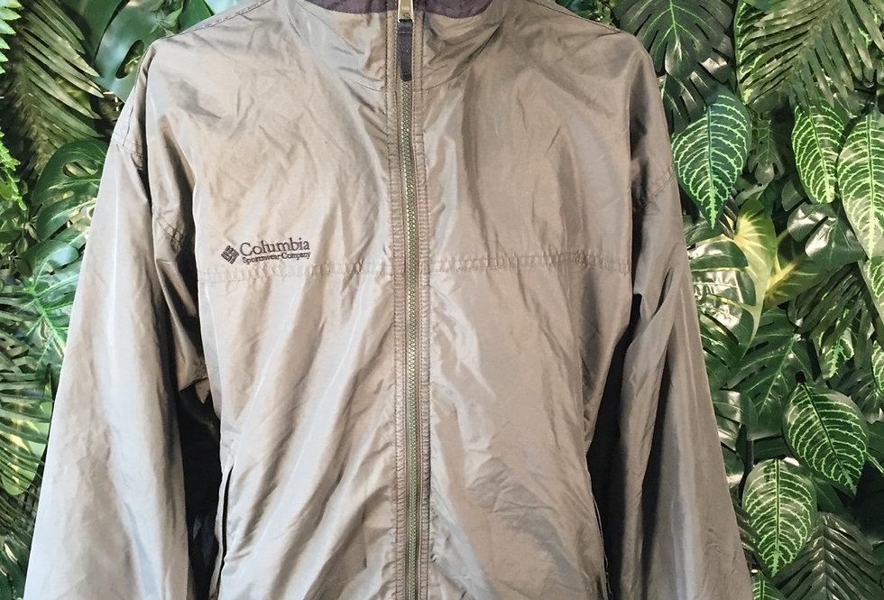 Columbia fleece lined jacket (L)