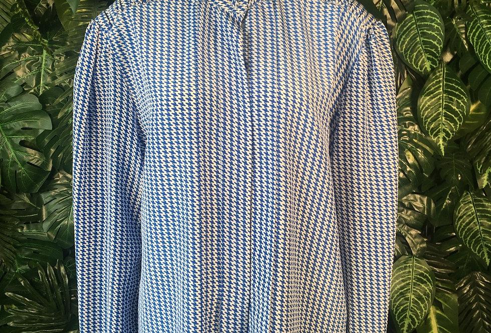 Vintage round neck blouse (size 16)