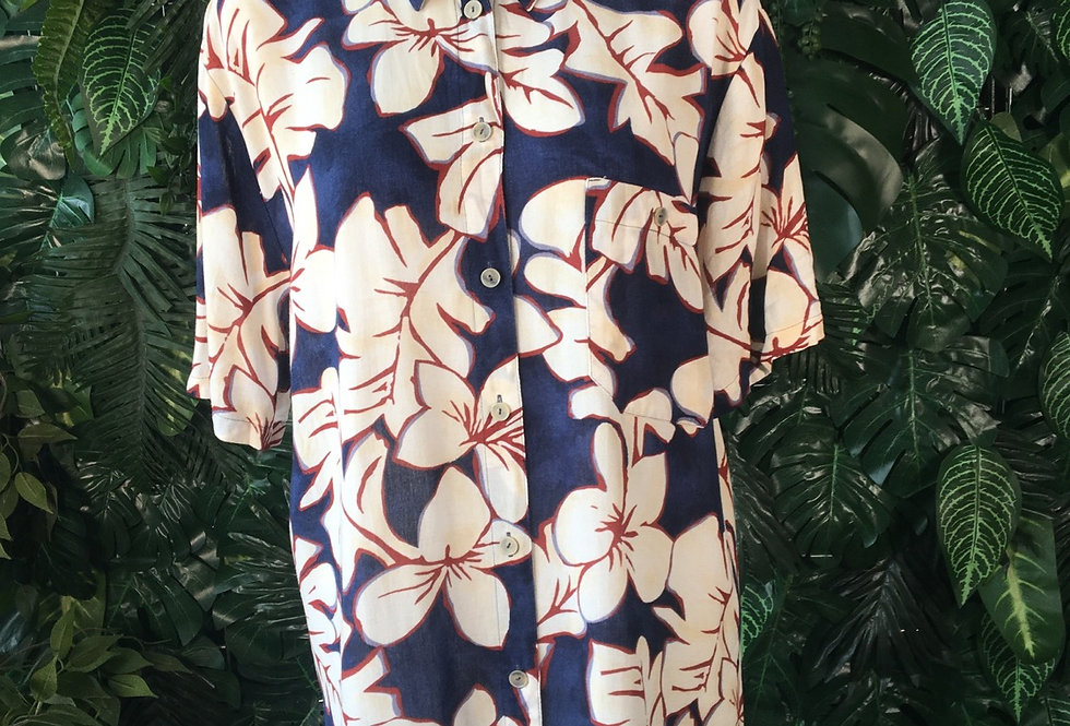 Hibiscus blouse (size 14)