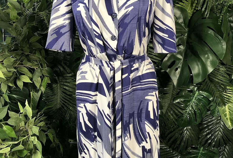 1960s tie dress