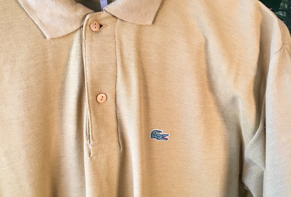Lacoste Yellow Polo