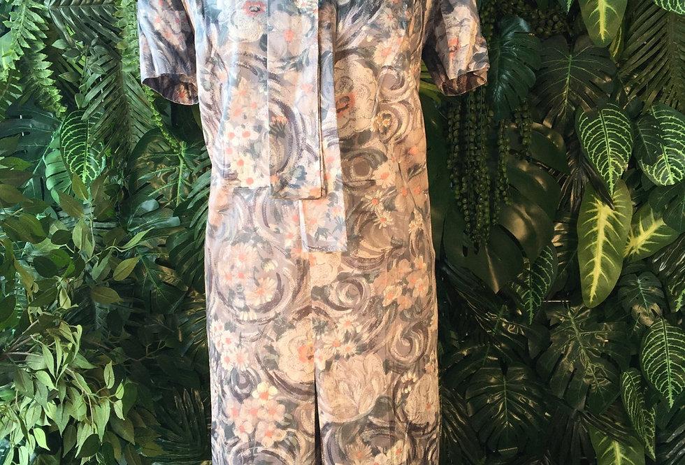 Vintage daisy dress (size 18)