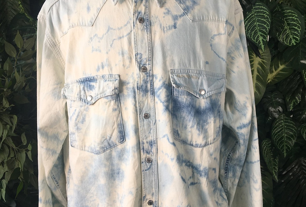 Mustang Jeans tie dye shirt (L)