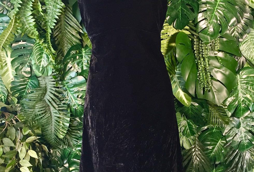Jacelyn Smith cowl neck velvet dress (size 14)