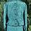 Thumbnail: Green 80s blouse