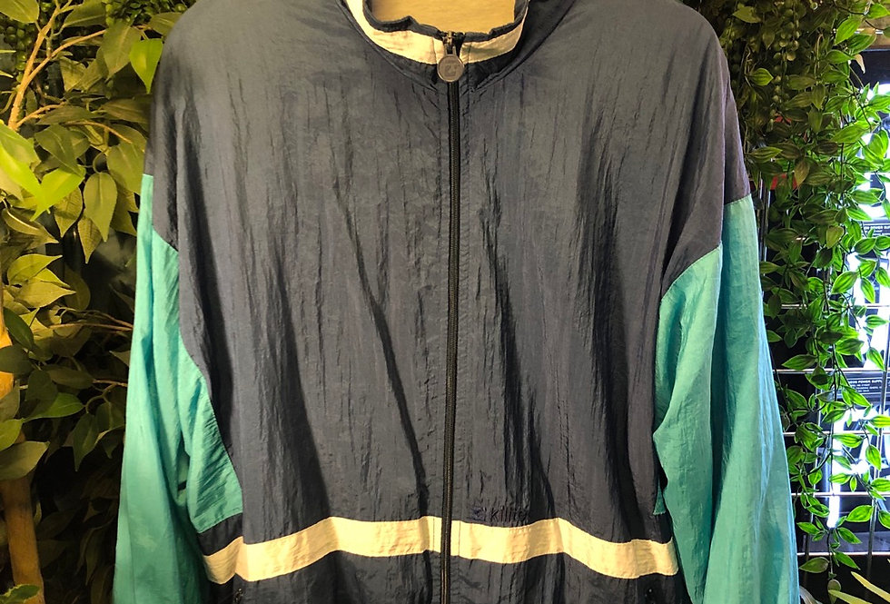 1990s shell track top