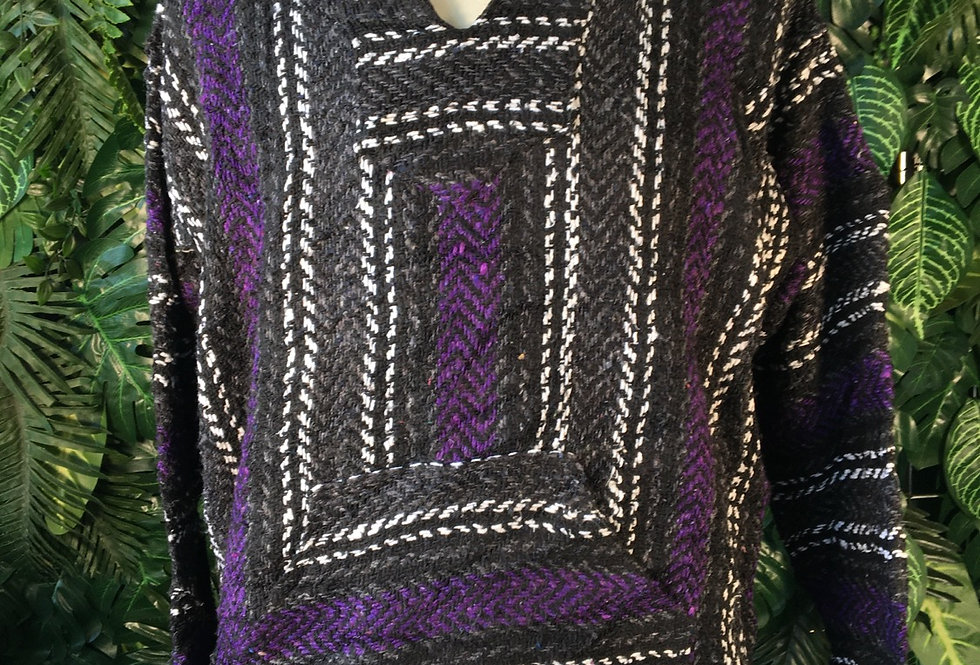 Baja Joe classic purple hoody (M)