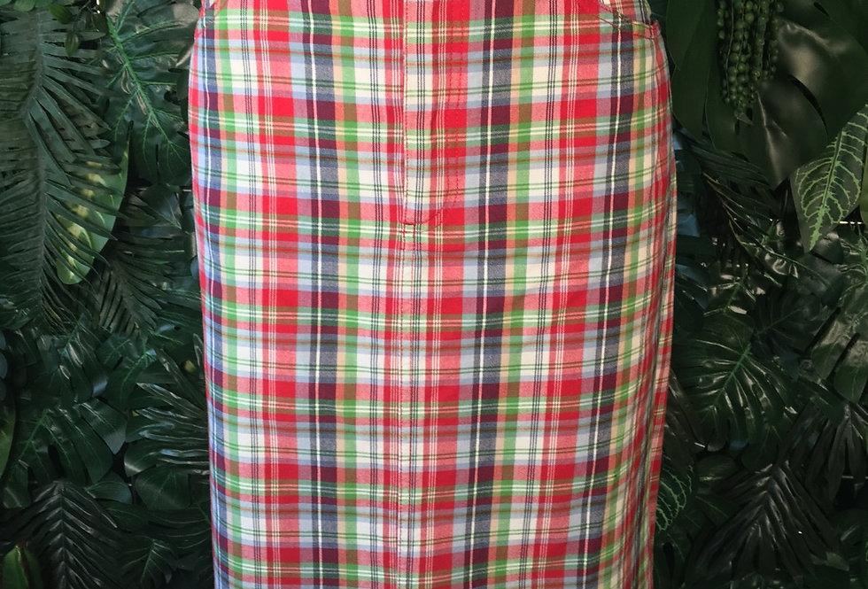 Eddie Bauer plaid skirt