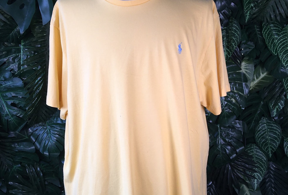 Polo Ralph Lauren tee yellow (2XL)