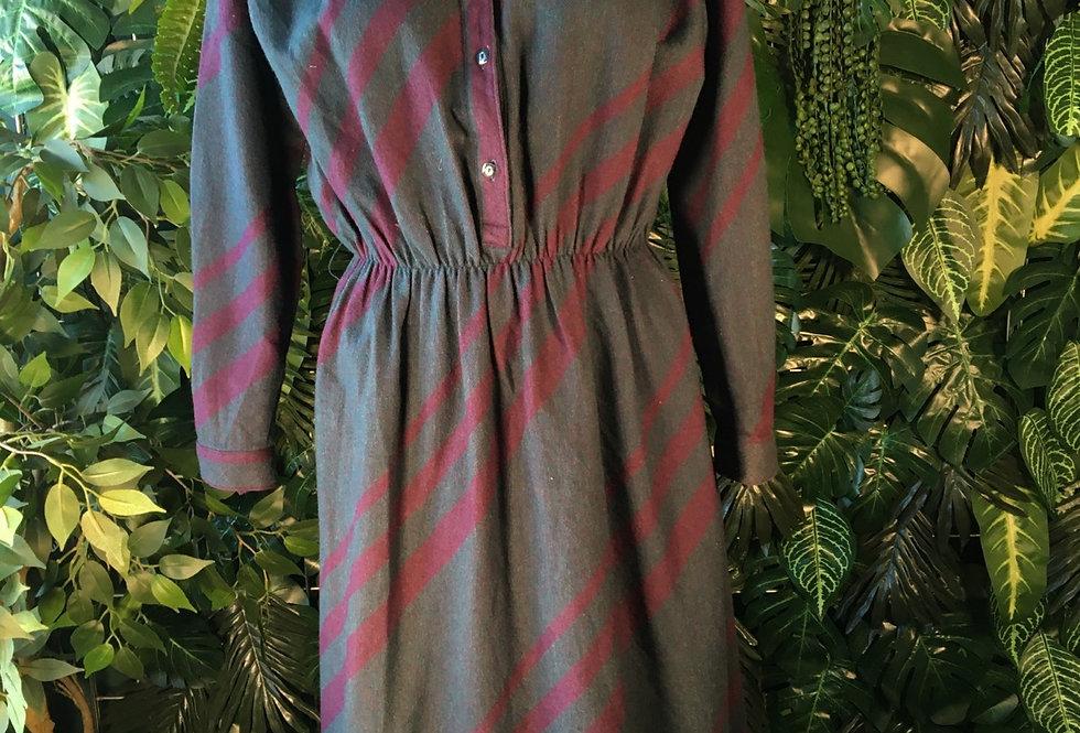 Poule striped dress