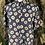 Thumbnail: Navy daisy blouse