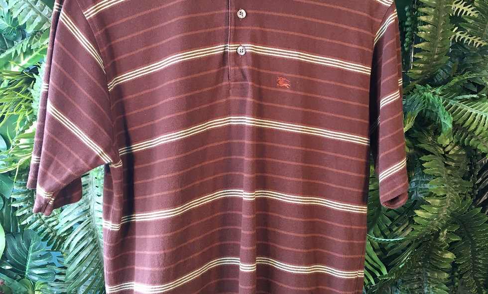 Burberry Gents Striped Polo