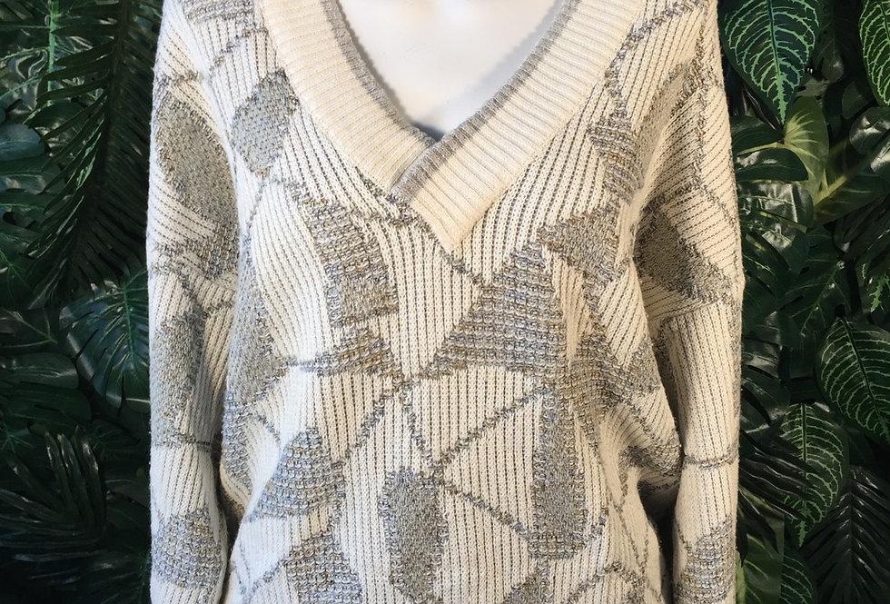 Wagner V neck knit (XL)