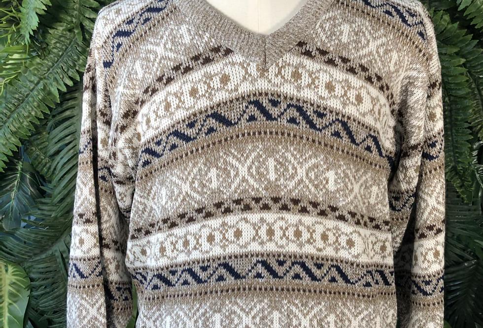 V neck 90s knit
