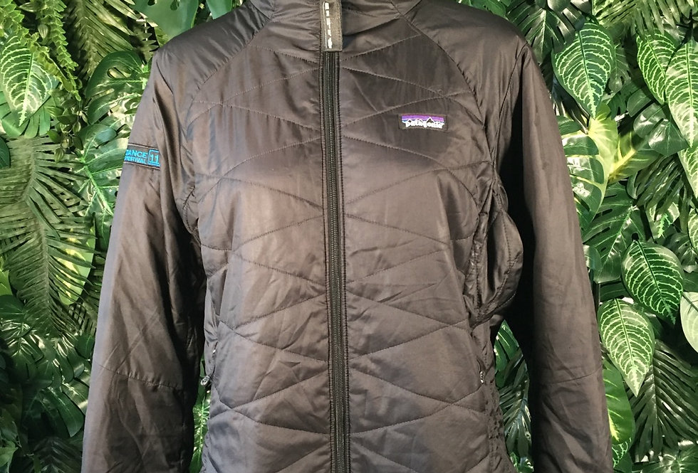 Patagonia quilted jacket (L)