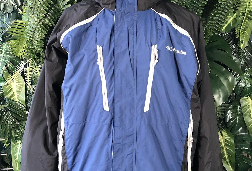 Columbia hooded jacket with detachable fleece