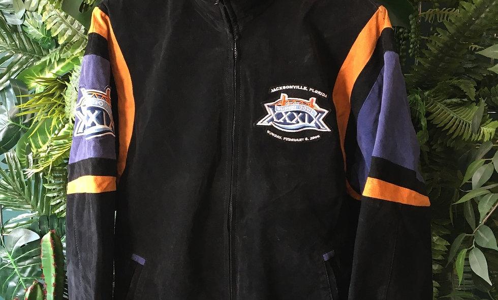 Official NFL Super Bowl 2005 suede jacket