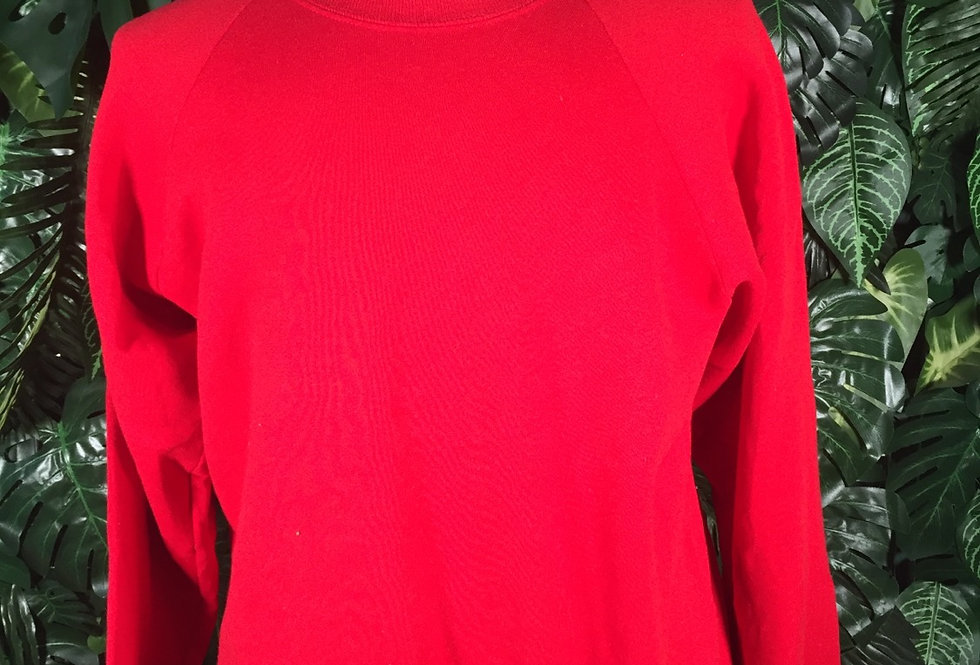 Fruit of the loom red crew neck (XL)