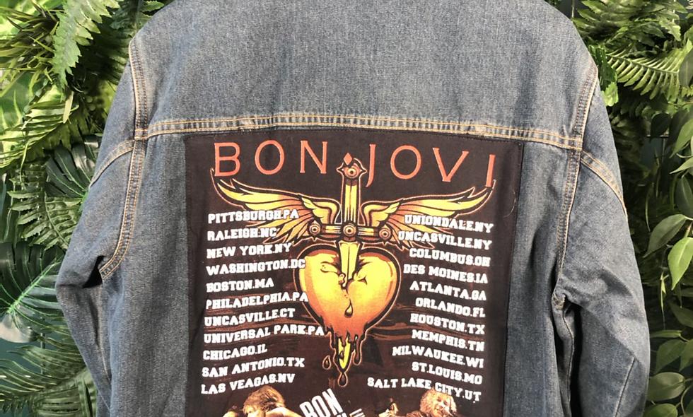 Bon jovi denim jacket