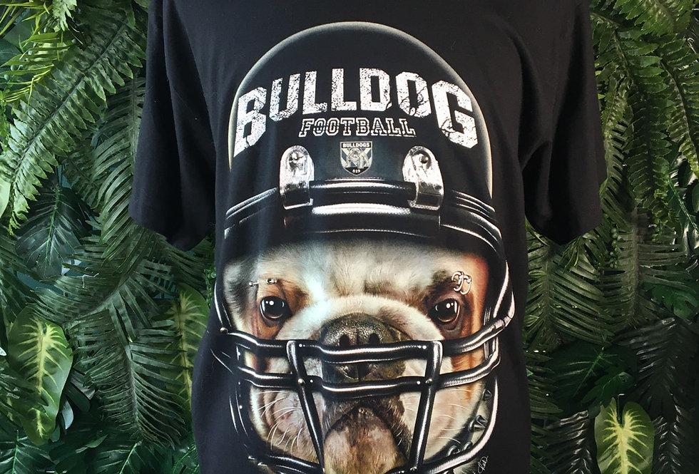 Bulldog Football Tee (L)