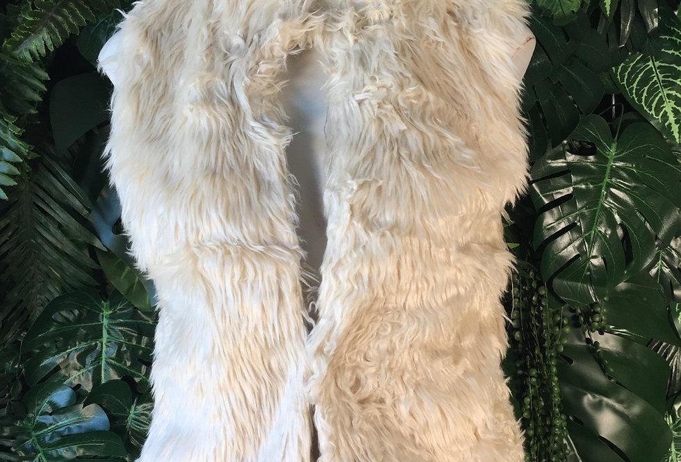 GiSono faux fleece gilet (s)