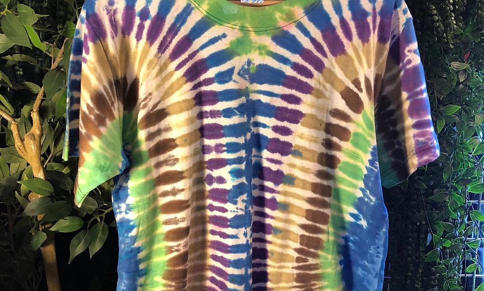 Tropical tie dye