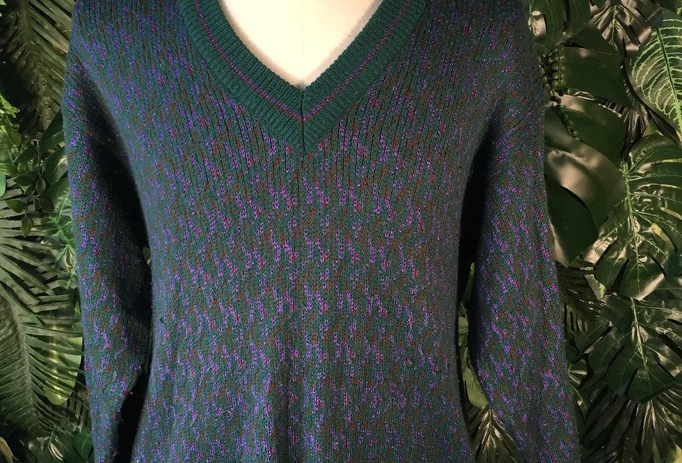 Scheisser v neck knit (L)