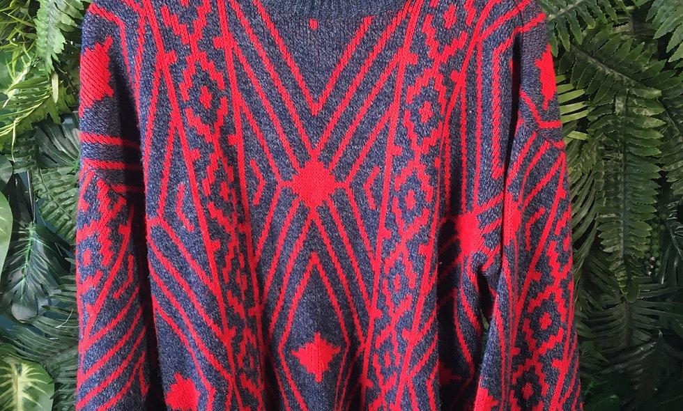 90s Pattern Knit