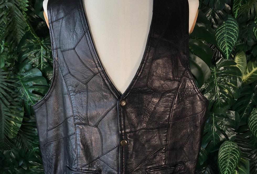 Maskin & Co leather waistcoat (2X)