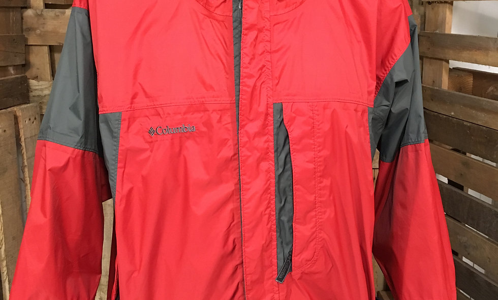 Colombia red outdoor jacket