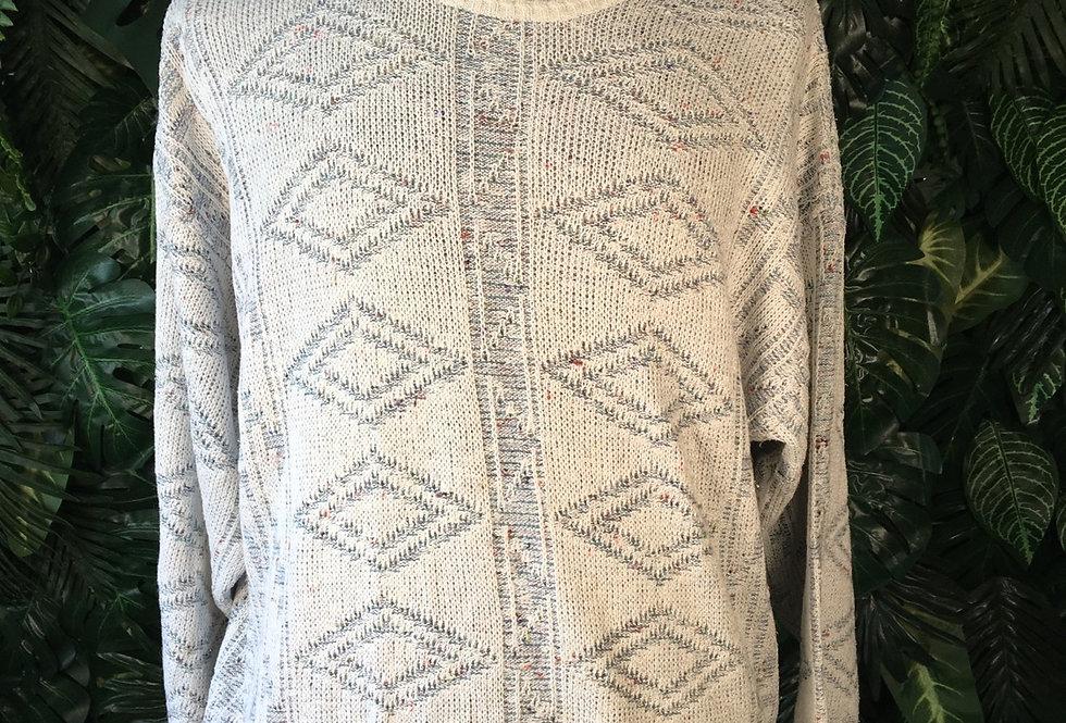 Frank Alex geometric knit (L)