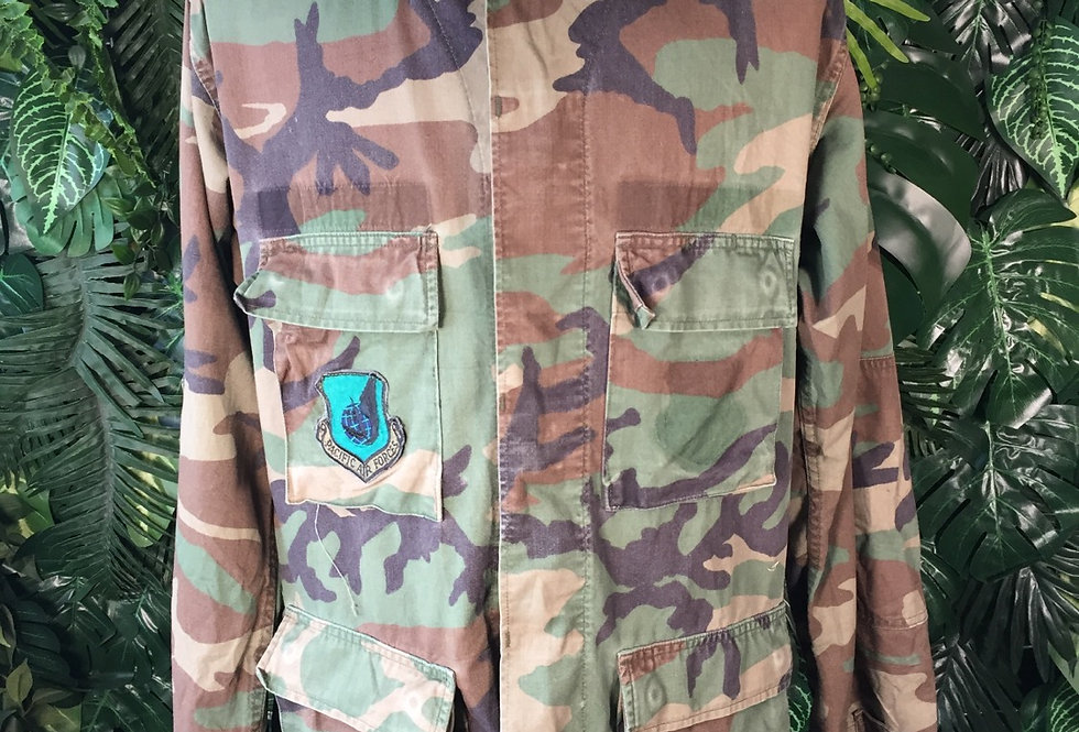 Pacific Air Forces camouflage over shirt (M)