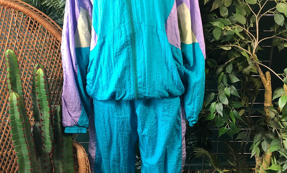 90s two piece shell tracksuit
