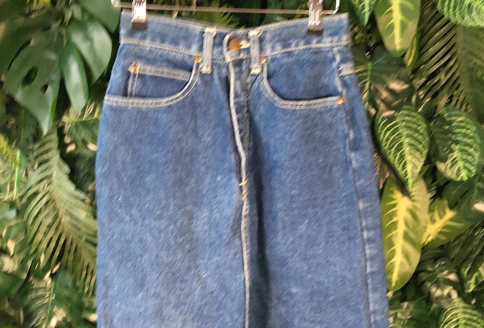 M Club denim skirt (size 6)
