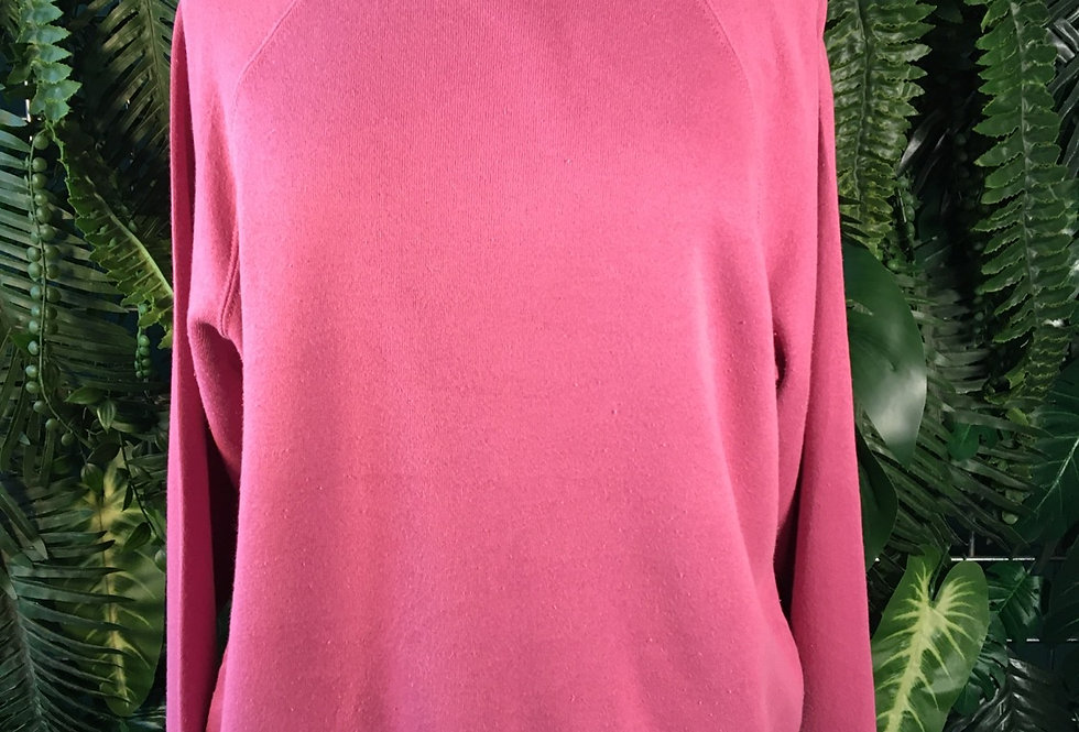 Hanes Soft Pink Crew Knit (M)