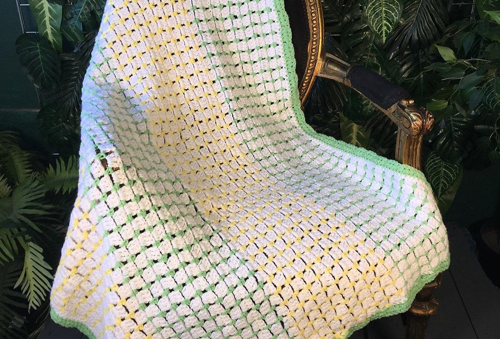 Pastel handmade blanket