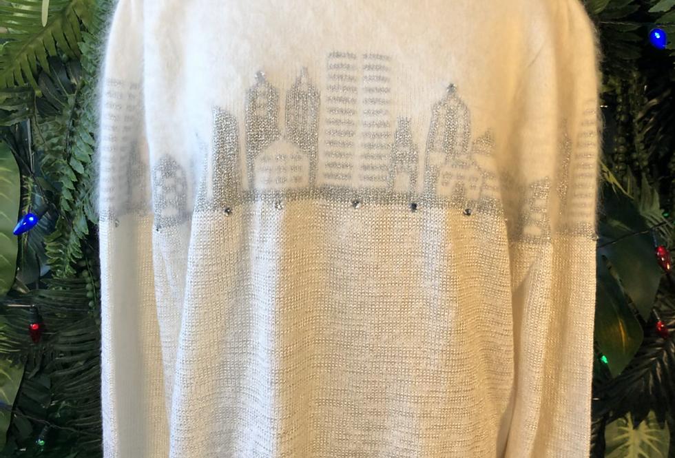 City scene 80s knit
