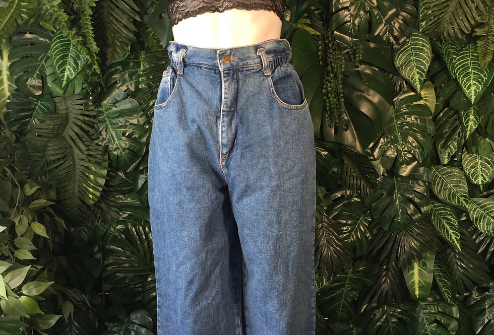 Fade Out wide leg jeans (size 12)