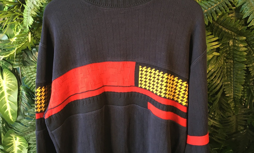 Carlo Colucci Panel Knit