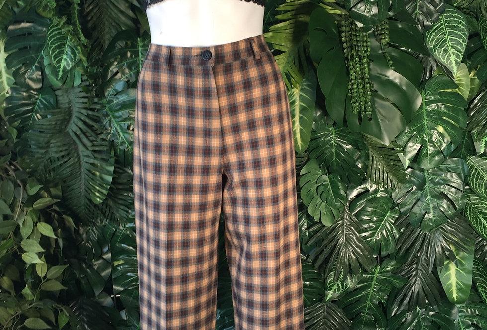 Bonita tartan trousers (size 10)