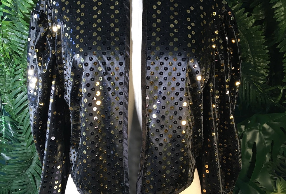 New Fast Sequin Gilet