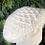 Thumbnail: Cream waffle knit hat