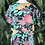 Thumbnail: 90s floral shift blouse