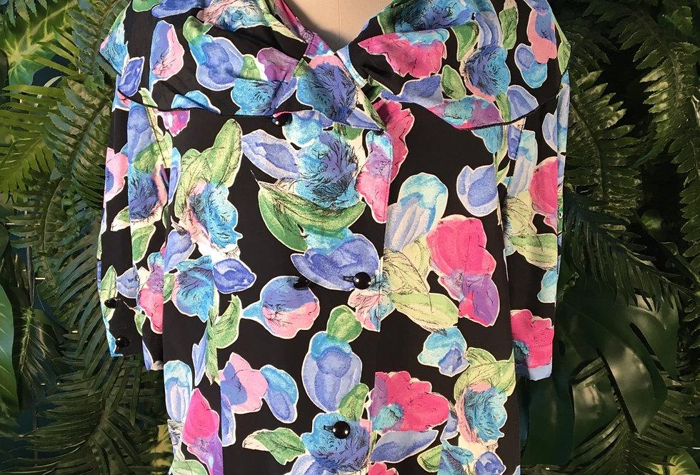 Sixth Sense Flower Blouse
